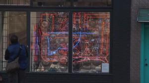 Neon in Store window